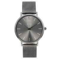 CLUSE荷蘭精品手錶 MINUIT系列 深灰錶盤金屬錶帶33mm CL30067