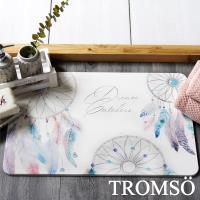 TROMSO-珪藻土厚實吸水地墊_60x40cm 羽毛捕夢網