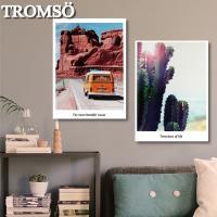 TROMSO-時尚無框畫_40x55cm兩幅一組 陽光旅程