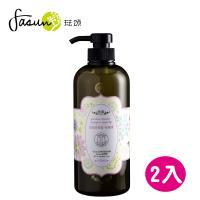 FASUN琺頌-保濕洗髮乳-玫瑰果 650ml *2瓶