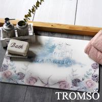 TROMSO-珪藻土厚實吸水地墊_60x40cm 夢境麋鹿