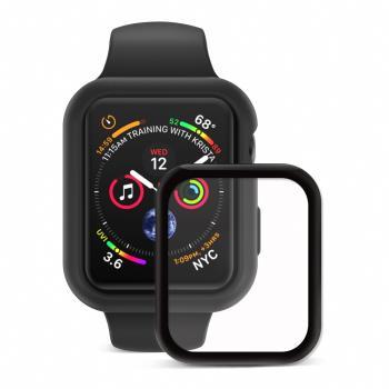 JTLEGEND Apple Watch Series 6/5/4/SE (44mm) Doux  柔矽全方位保護殼組  (保護殼+3D保貼)