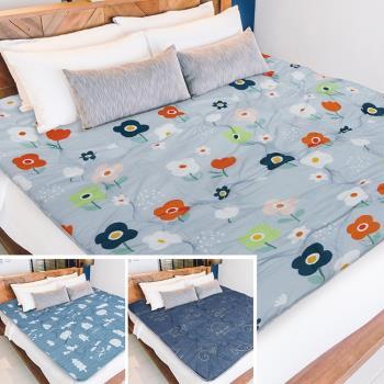 Victoria 鋪棉透氣日式折疊床墊-單人(多款任選)