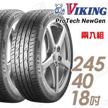 VIKING 維京 ProTech New Gen 濕地輪胎_兩入組_245/40/18(PTNG)