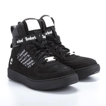 Timberland男款黑色正絨面皮革Cityroam™ Cupsole休閒鞋A24GM001