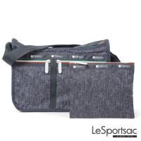 LeSportsac - Standard雙口袋A4大書包-附化妝包 (休閒單寧風)