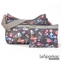 LeSportsac - Standard側背水餃包/流浪包-附化妝包(團員)