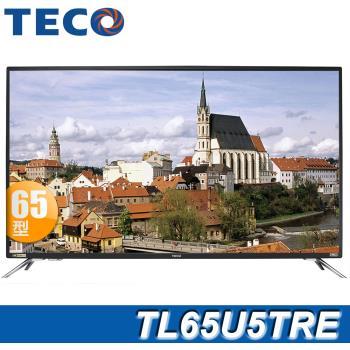 TECO東元 65吋 4K 智慧連網顯示器+視訊盒(TL65U5TRE)