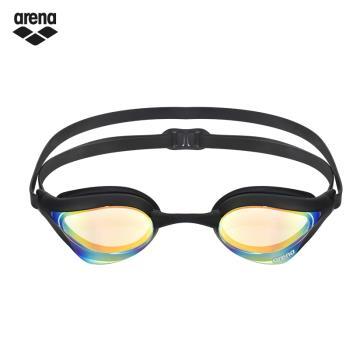ARENA AGL-240M 高效防霧競速泳鏡 黑色