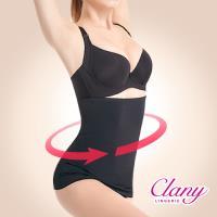 【可蘭霓Clany】蠻腰平腹機能M-Q(2XL)腰夾(神秘黑 1955-63)