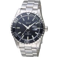 Ogival 黑水鬼 夜鷹氚氣燈管潛水型腕錶(3985TGS)黑色/43mm