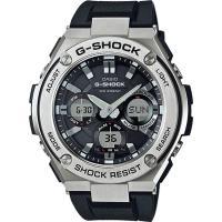 CASIO G-SHOCK 絕對強悍太陽能數位手錶-黑色/膠帶(GST-S110-1A)