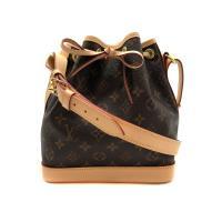 【Louis Vuitton】Monogram  NOÉ BB 束口水桶斜背包 (M40817-咖)