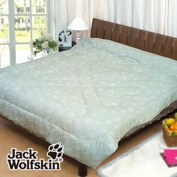 Jack Wolfskin 專利銀離子抗菌發熱雙人被胎(銀綠)