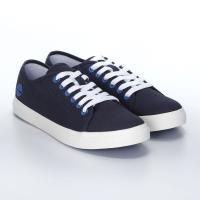 Timberland女款深藍色帆布休閒鞋A1YRB019