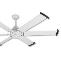 阿拉斯加 MEGA工業風吊扇84吋-遙控-白色
