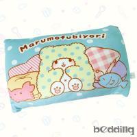 BEDDING-三麗鷗正版授權-毛毯熊莫普長方形抱枕_藍色