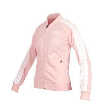 KAPPA 女運動外套-立領外套 慢跑 路跑
