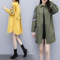 型-韓國K.W. 曼妙魅力刺繡造型外套