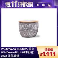 美國 PADDYWAX SONORA系列 WildflowersBirch 樺木野花 283g 香氛蠟燭