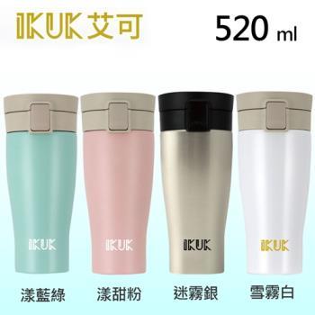 IKUK 艾可 陶瓷保溫杯大彈蓋520ml IKPV-520 共四色