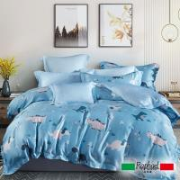Raphael拉斐爾 歡樂年華 天絲雙人四件式床包兩用被套組