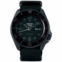 SEIKO 精工 5 Sports 綻放自我機械錶/黑/42.5mm (4R36-07G0F/SRPD79K1)