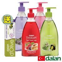 【土耳其dalan】經典香氛四款健康洗手乳再贈修護霜一入(玫瑰+迷迭香+薰衣草+生薑)