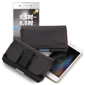 CITY for 三星Samsung Galaxy Note10 / Note10+ 嚴選真皮旋轉腰掛皮套