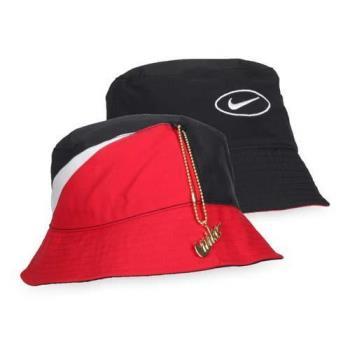 NIKE 漁夫帽-遮陽 帽子 防曬