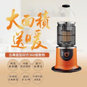 【LAPOLO】速暖360度環繞電暖器