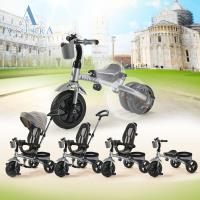 AZZURRA 5合1多功能三輪車(滑步車、助步車、推行車)