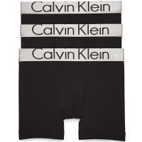CK 2019男時尚CK寬腰帶黑色四角修飾內著3件組