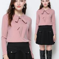 麗質達人 - 16182粉紅色綁帶上衣
