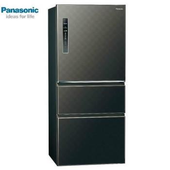 送吸濕毯+滿額送氣炸鍋★ Panasonic國際牌610L一級能效三門變頻電冰箱(絲紋黑)NR-C610HV-V(庫)