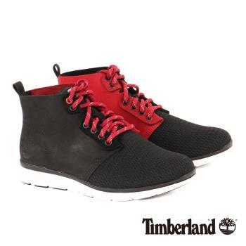 Timberland 男款killington紅色避震高筒戶外休閒鞋A1I7E