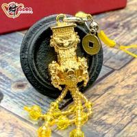 財神小舖-黃金媽祖吊飾(含開光)