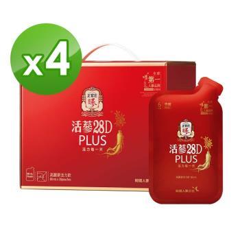 正官庄 活蔘28D PLUS(80mlx30包)*4盒
