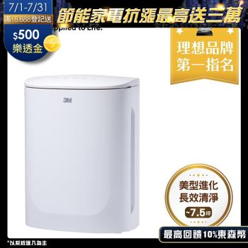 N95口罩等級濾淨原理★3M 淨呼吸 FA-U90空氣清淨機(適用~7.5坪)