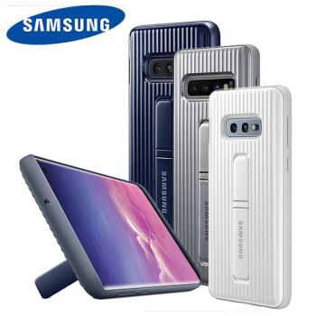 【Samsung三星 S10E/S10】原廠立架式保護皮套