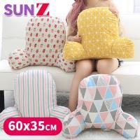 SUNZ-日系人體工學設計機能護腰加高加厚靠墊/靠枕(60X35cm)
