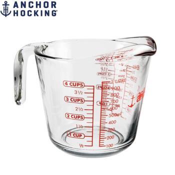 美國Anchor專業級強化玻璃大量杯1000cc