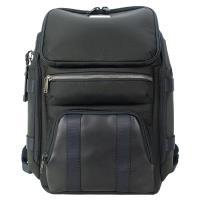 TUMI ALPHA BRAVO 尼龍拼接前口袋後背包(適用15吋筆電)-黑
