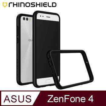 犀牛盾ASUS ZenFone 4 [ZE554KL] CrashGuard防摔邊框殼 -黑色
