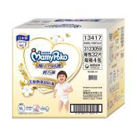 滿意寶寶 日本白金 極上の呵護輕巧褲/褲型尿布 (32片x 4包)-XL