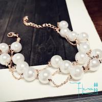 Hera赫拉 韓版時尚 珍珠手鍊 甜美清新 簡約飾品 手鍊 裝飾品(珍珠手鍊 甜美 韓版時尚)