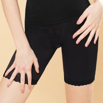 【曼黛瑪璉】2015SS 魔幻美型 中腰中管束褲S-XL(黑)