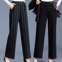 麗質達人 - 2605設計款綁帶長褲-二色