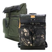TUMI ALPHA BRAVO 尼龍拼接雙口袋後背包(適用15吋筆電)-多色選