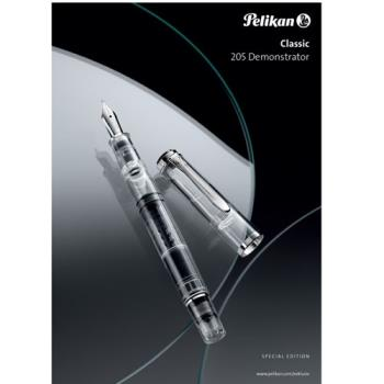 PELIKAN 百利金 CLASSIC DEMONSTRATOR 透明示範 鋼筆 M205